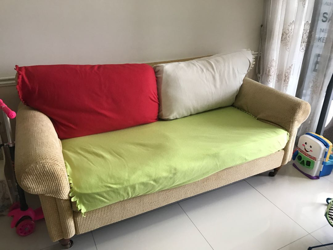 2 Seater Sofa Laura Ashley, Furniture, Sofas on Carousell