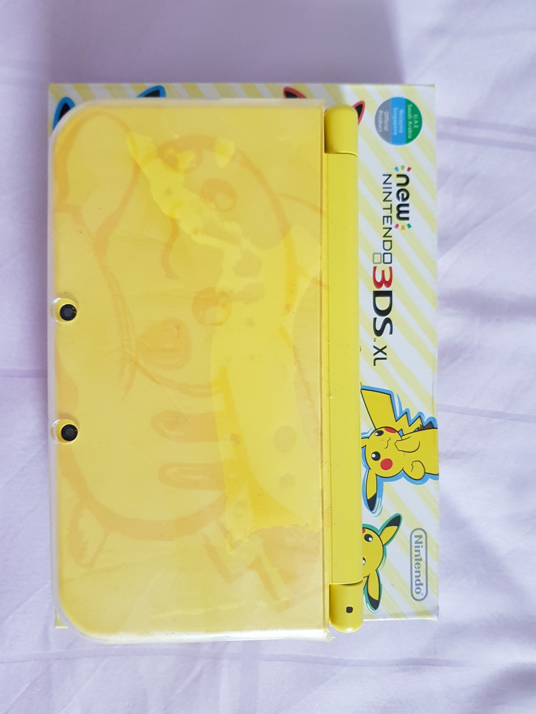 3ds Xl Nintendo Pikachu Yellow Edition Electronics Others On Carousell New