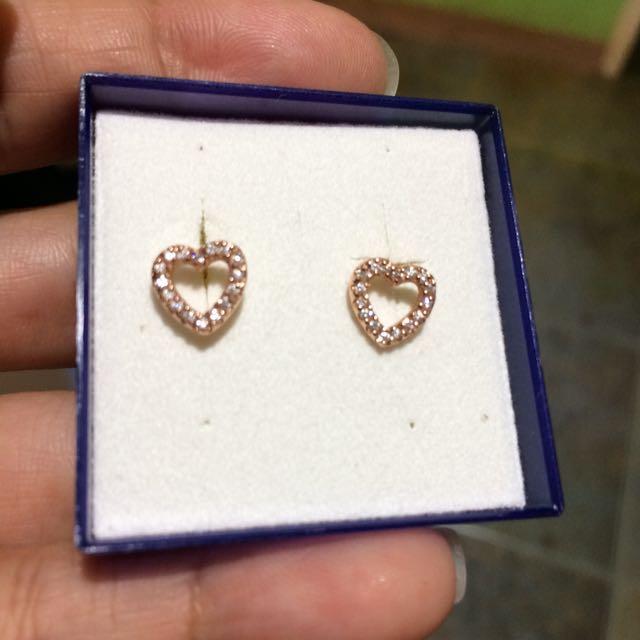 925 rosegold earrings from australia