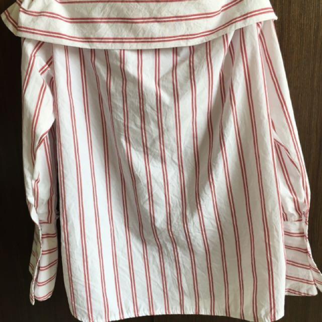 條紋純棉上衣