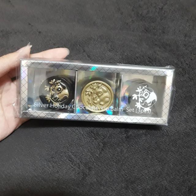 熊貓造型護唇膏禮盒