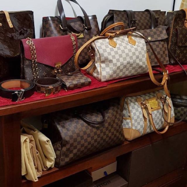 f6aea3b717cae7 💯 LV Speedy 35 Damier Ebene, Women's Fashion, Bags & Wallets on Carousell