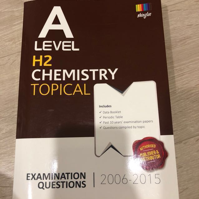 A level h2 chemistry tys topical books stationery textbooks on photo photo fandeluxe Image collections