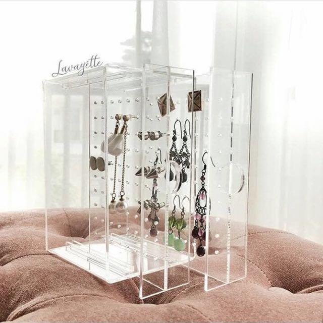 Acrylic Earrings Box