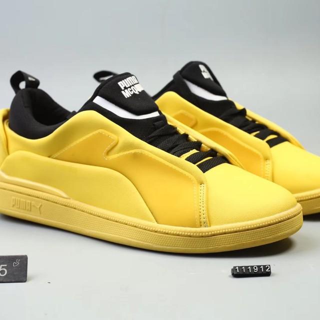 dfb584ff1308 Alexander McQueen X Puma MCQ Brace Lo Sneaker (Cyber Yellow Black ...