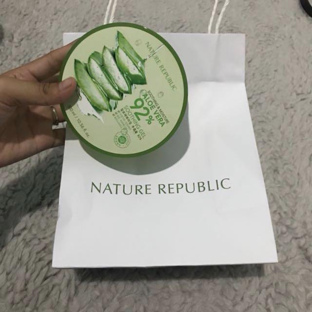 Aloe vera nature republic