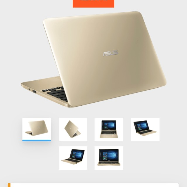 Asus notebook 11.6 inch