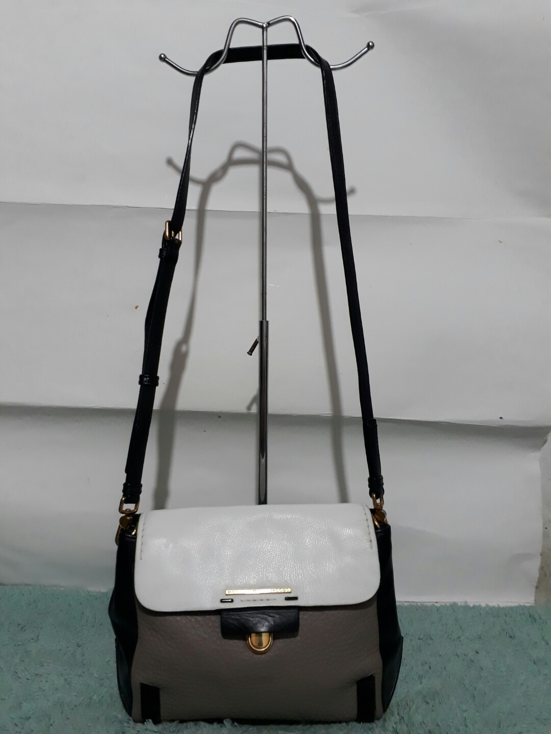 Authentic Marc Jacob leather sling bag