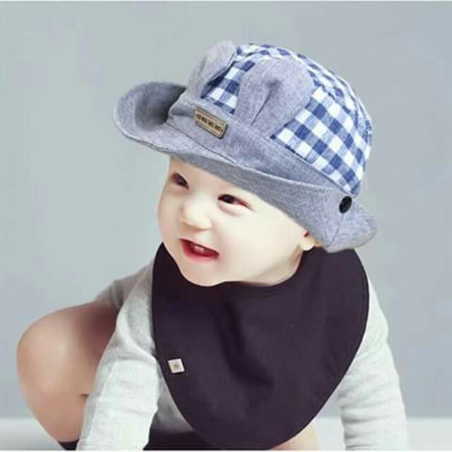 Baby Bucket Hat - BLUE cc160e0e958