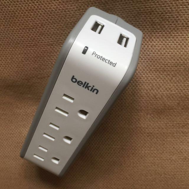 Belkin BST300bg USB充電器防突波保護插座 可直充平板手機 最後一組