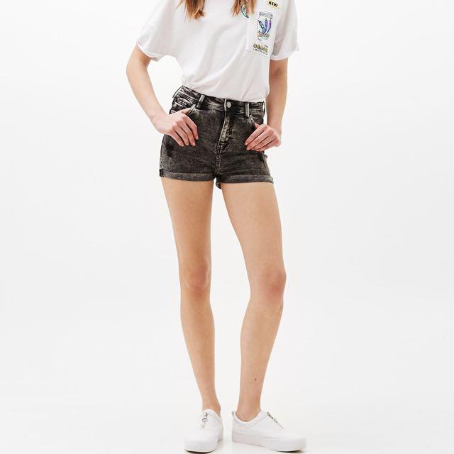 Bershka High Waist Shorts