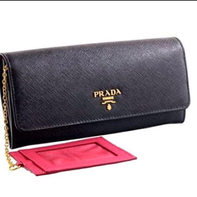 925d8a17f4c7 ... canada bn prada saffiano 1mh132 ladies wallet bi colour with receipt  original price 990 everything else