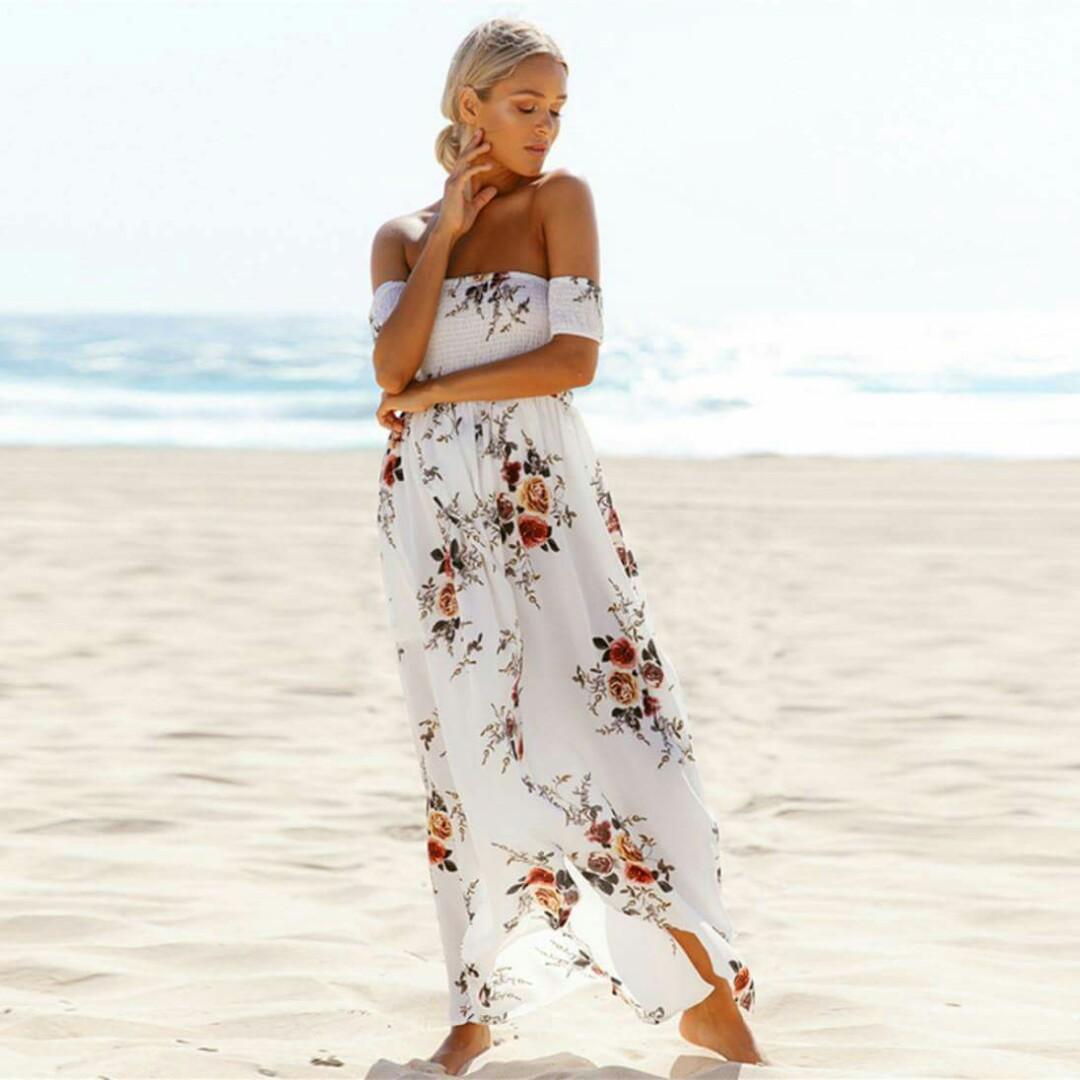 Boho long dress / Summer / Beach Outfit