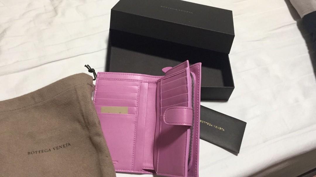 Bottega Veneta Intrecciato Nappa French Flap Wallet