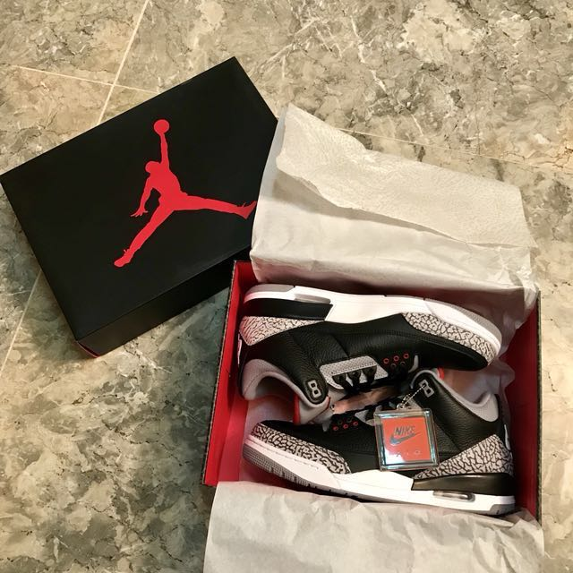 Brand New Authentic Nike Jordan Air 3 Retro OG Limited Edition see details for more info