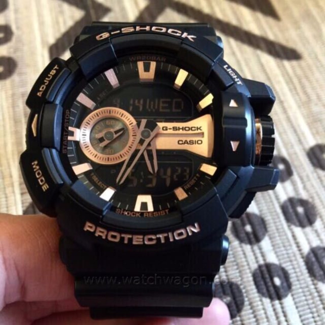 Brand New Casio G Shock Rose Gold Ga 400gb 1a4 400 Mens 1a9 Fashion Watches On Carousell