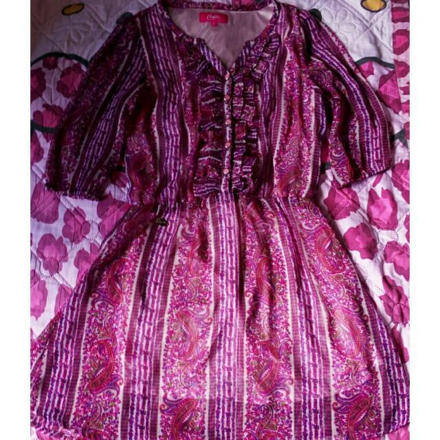 Candie's Purple Dress
