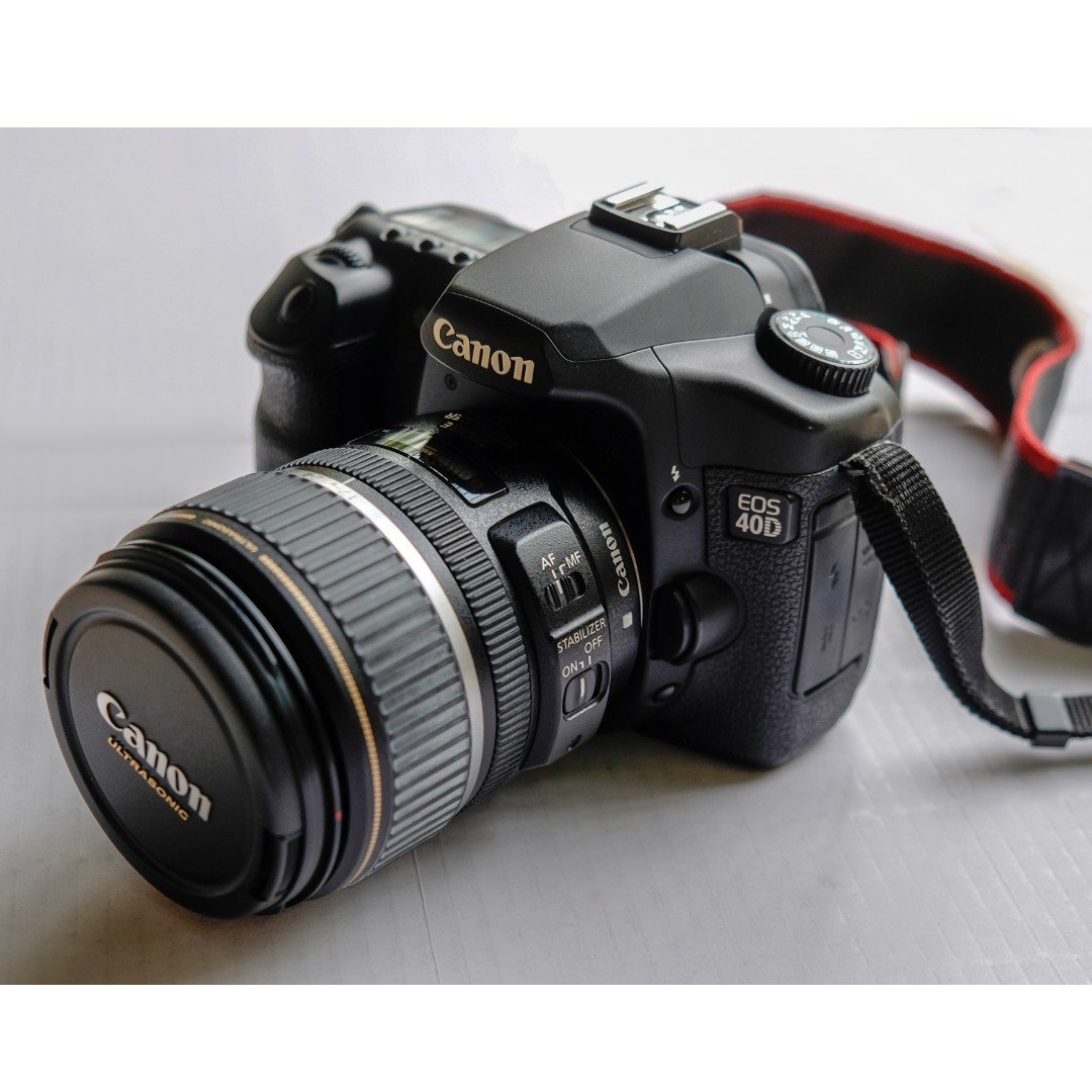 Canon 40D with EF-S 17-85 mm f/4-5 6 IS USM Lens