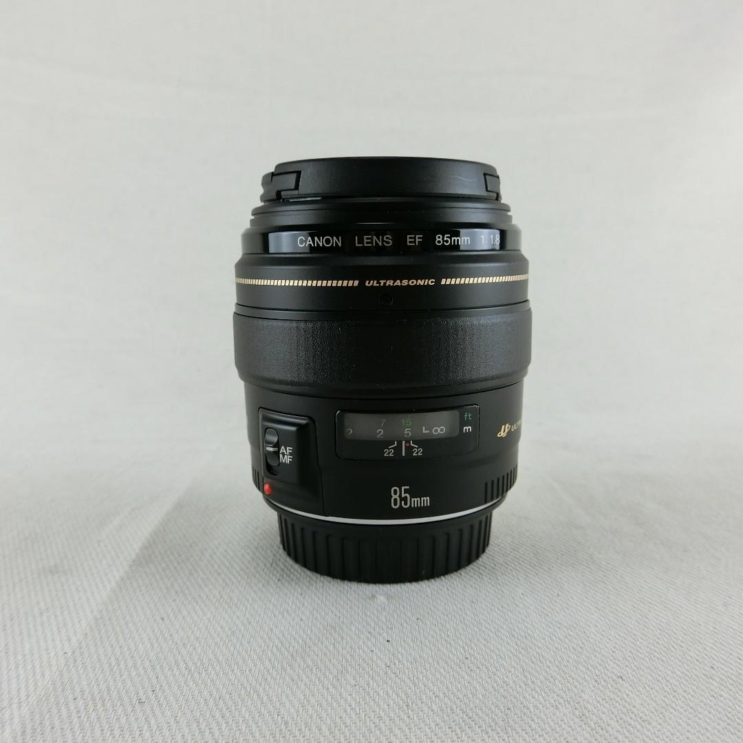 Canon EF 85mm F1.8 USM 人像定焦鏡頭 盒裝 公司貨