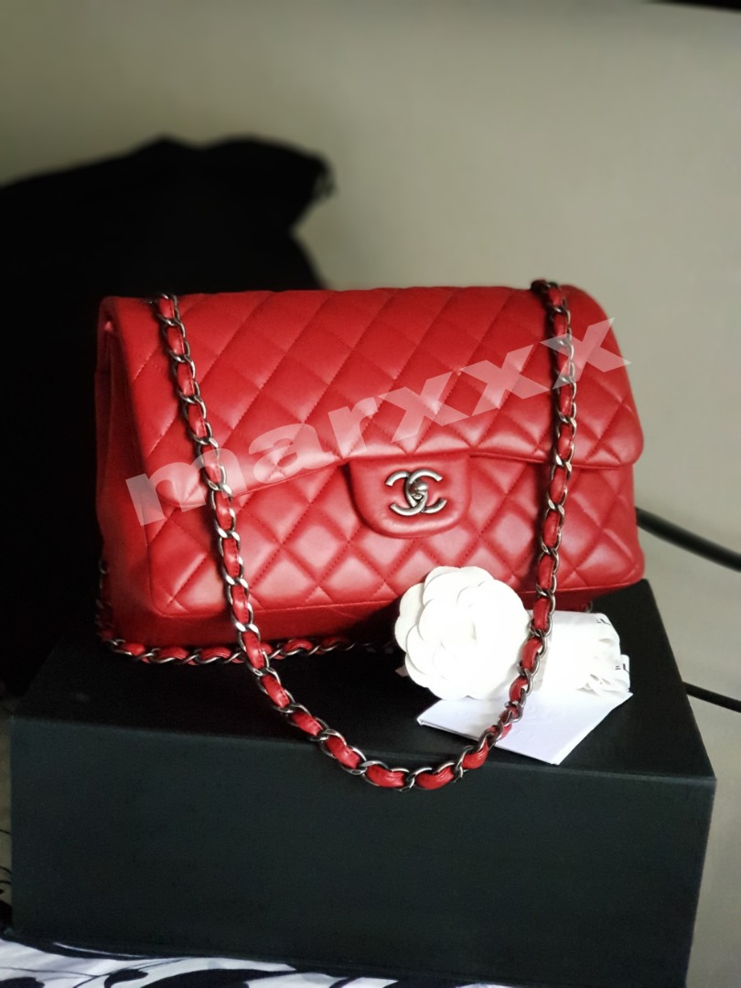 23e527bba090 *FINAL PRICE*Chanel Jumbo Classic Double Flap, Luxury, Bags & Wallets on  Carousell