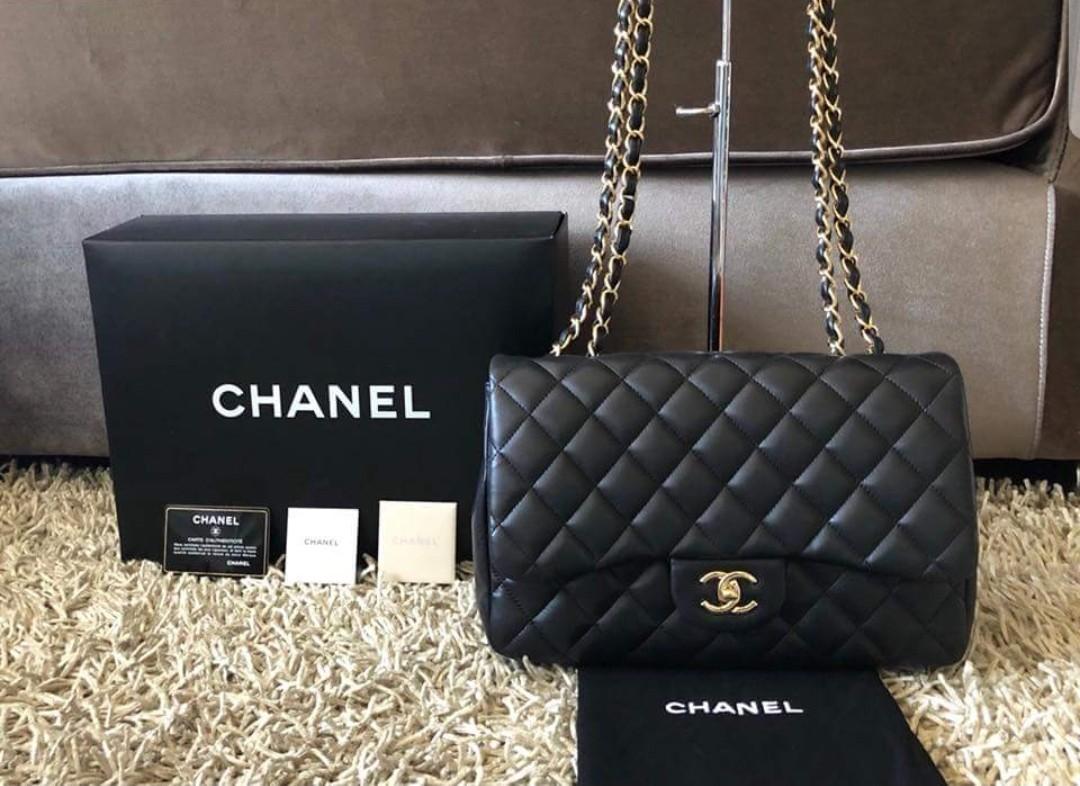 Chanel jumbo double flap