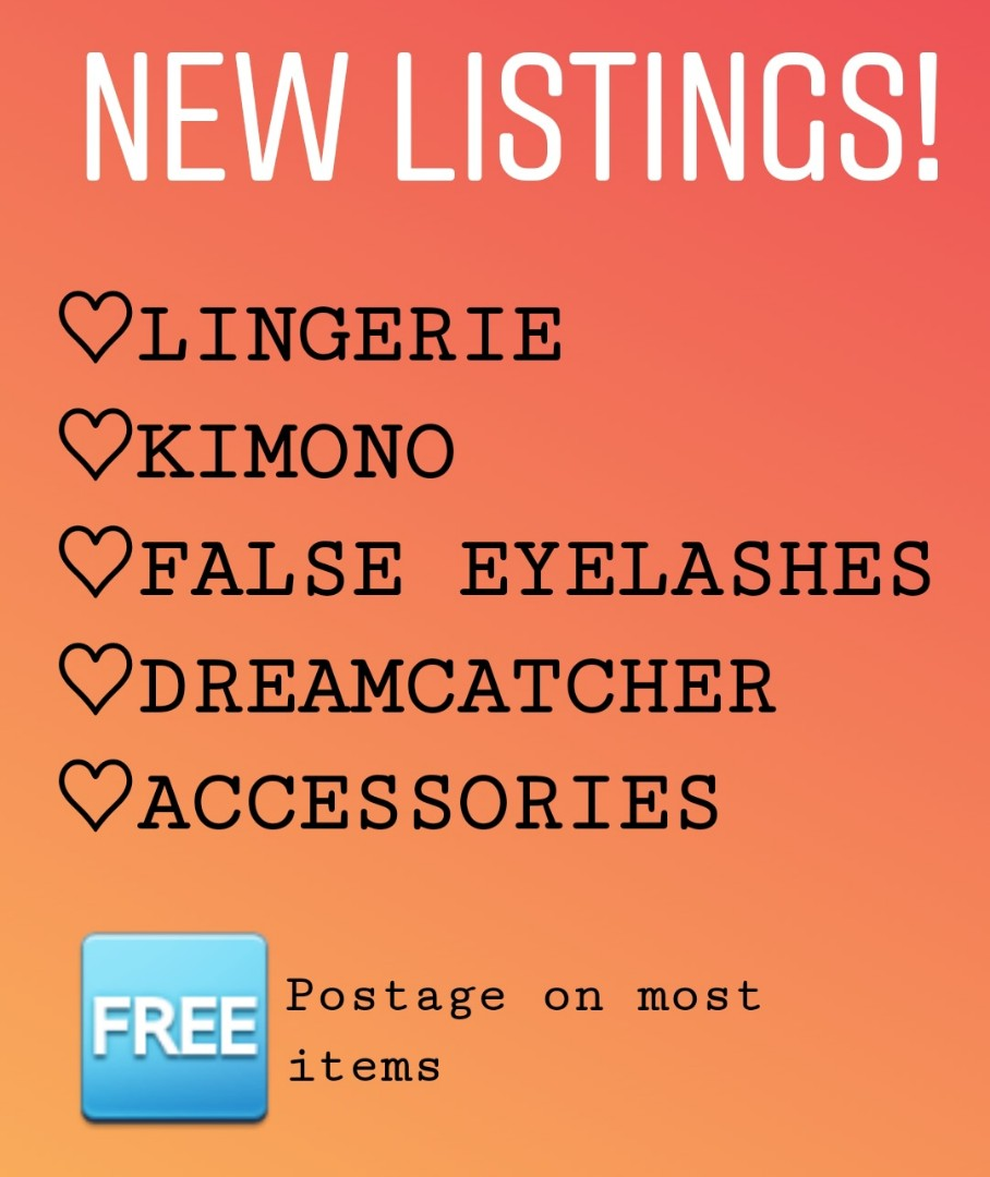 Check out my page for new listings