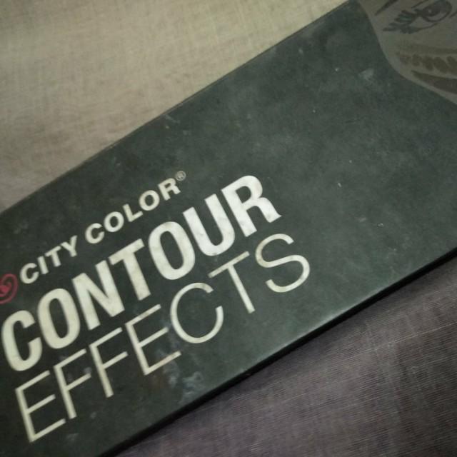 City color Contour effects