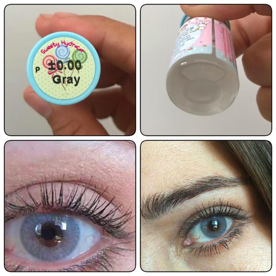 Color Contact Lenses (Spatax Gray / Hydrocor Gray / Lamune Gray) Solotica Dupes