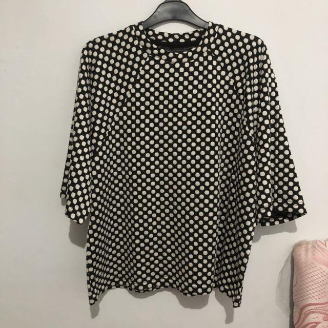 Cotton ink blouse