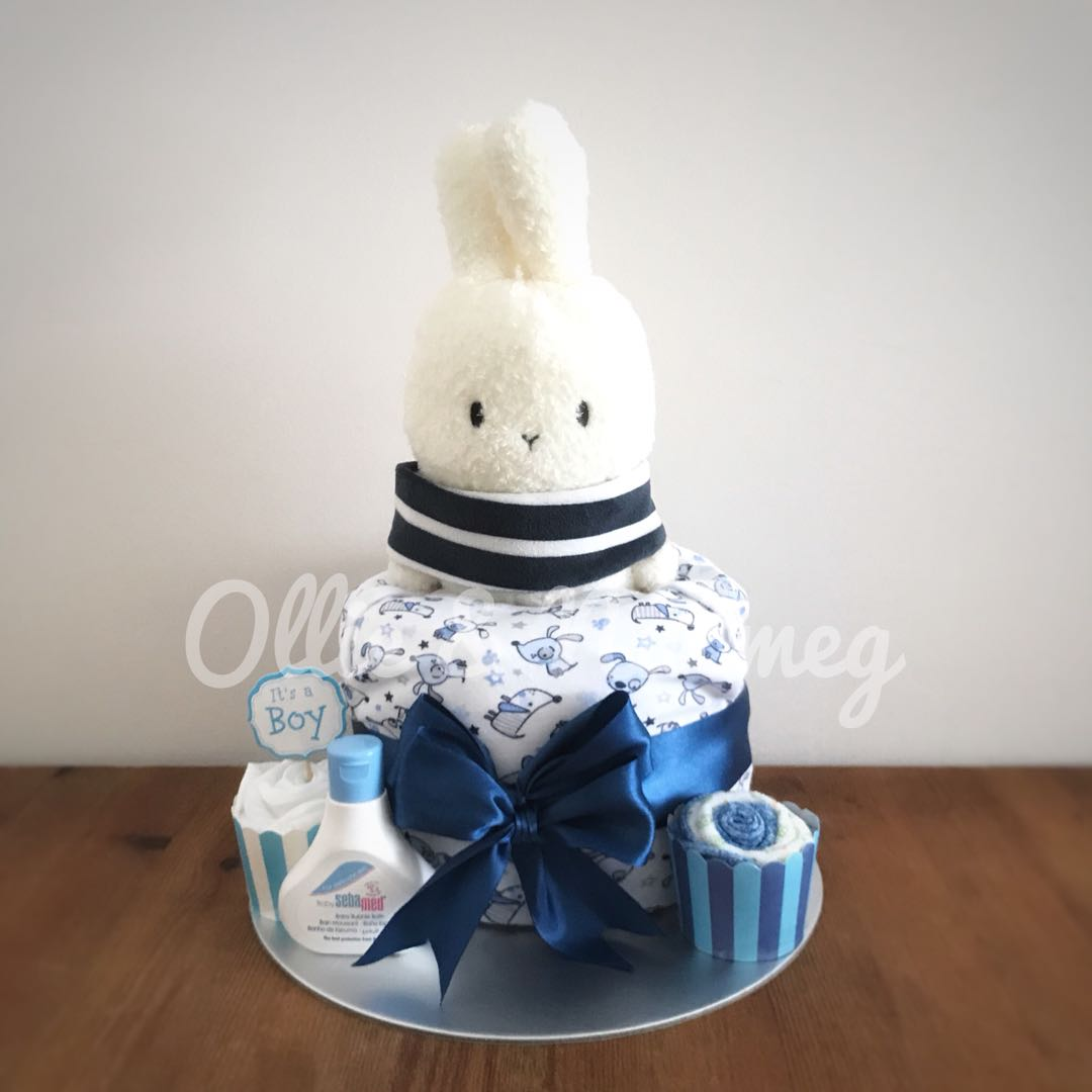 Customised Diaper Cake Hamper