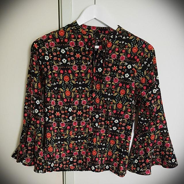 Dangerfield floral blouse