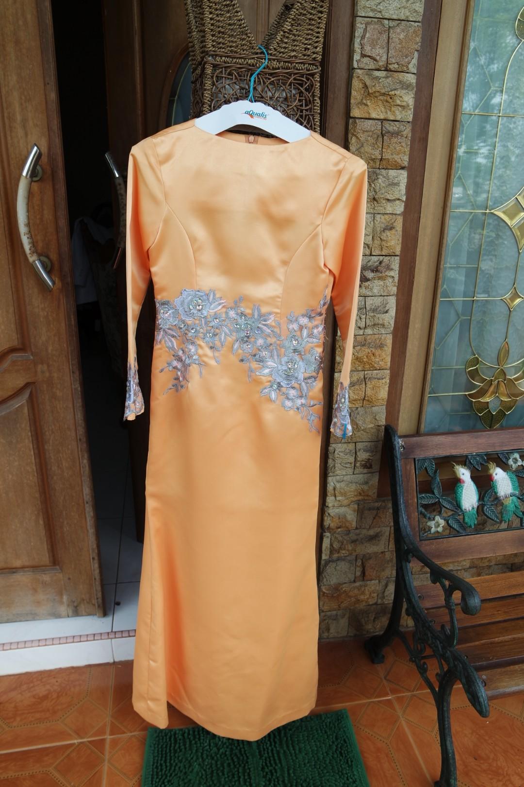 Dress Kebaya Nego Fesyen Wanita Pakaian Gaun Rok Di Poppy Dharsono Batik Katun Carousell