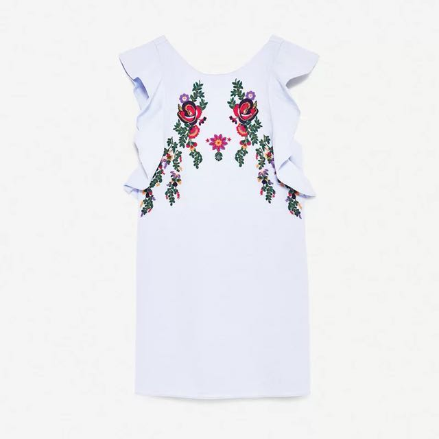 Embroidery dress #hot80