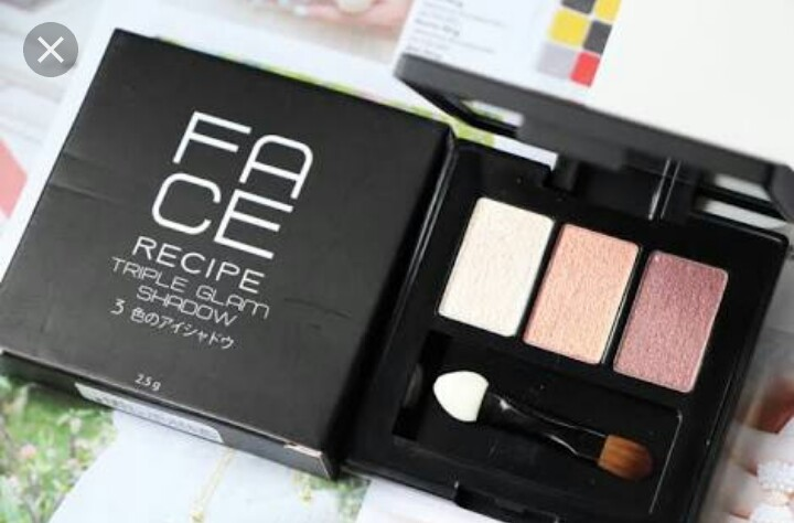 Face recipe triple glam shadow no.4