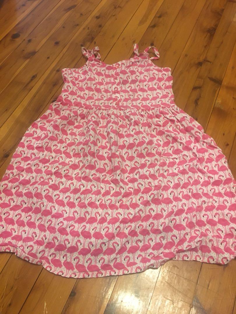 Flamingo dress size 8