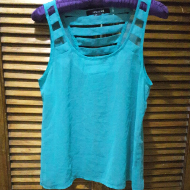 Forever21 Teal Top