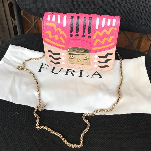 Furla metropolis authentic mini motif