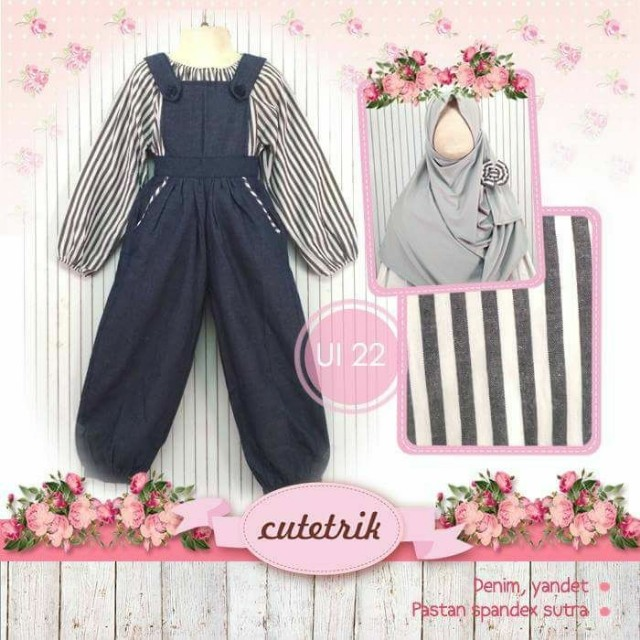 Gamis Overall Anak Babies Kids Others On Carousell