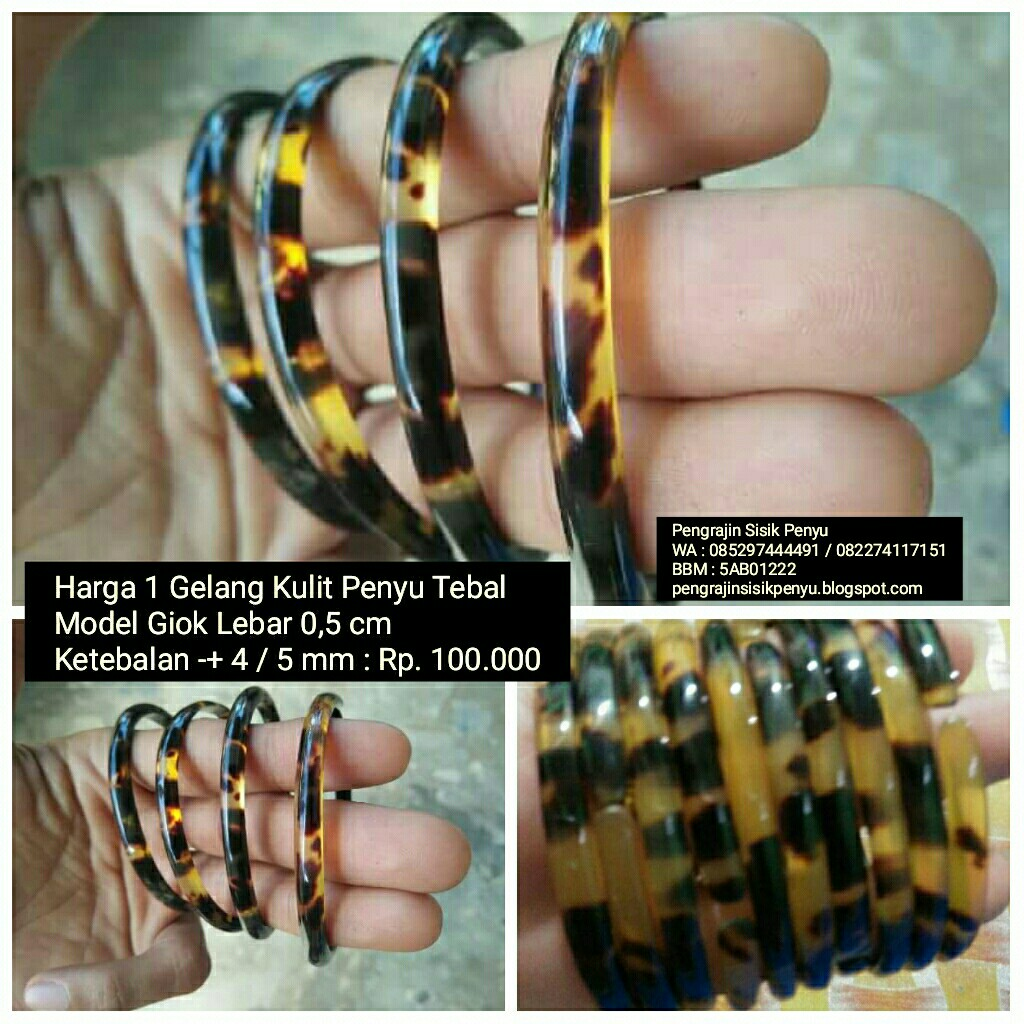 Gelang Kulit Penyu Sisik Pendok Kea Model Giok Tebal Lebar 05 Cm Design Craft Handmade Goods Accessories On