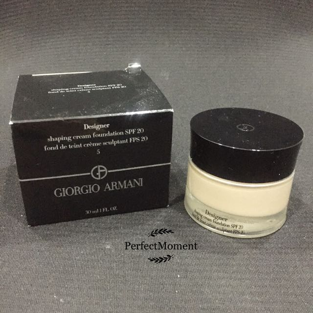 Giorgio Armani Designer cream foundation 05
