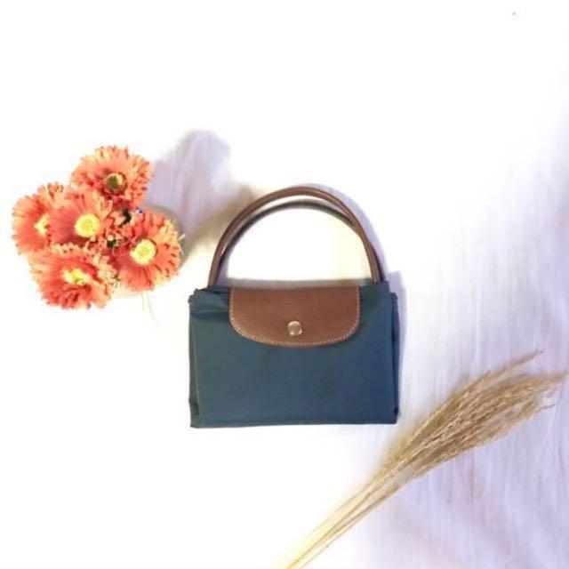 Goodasnew Longchamp Bag Authentic in dark blue navy