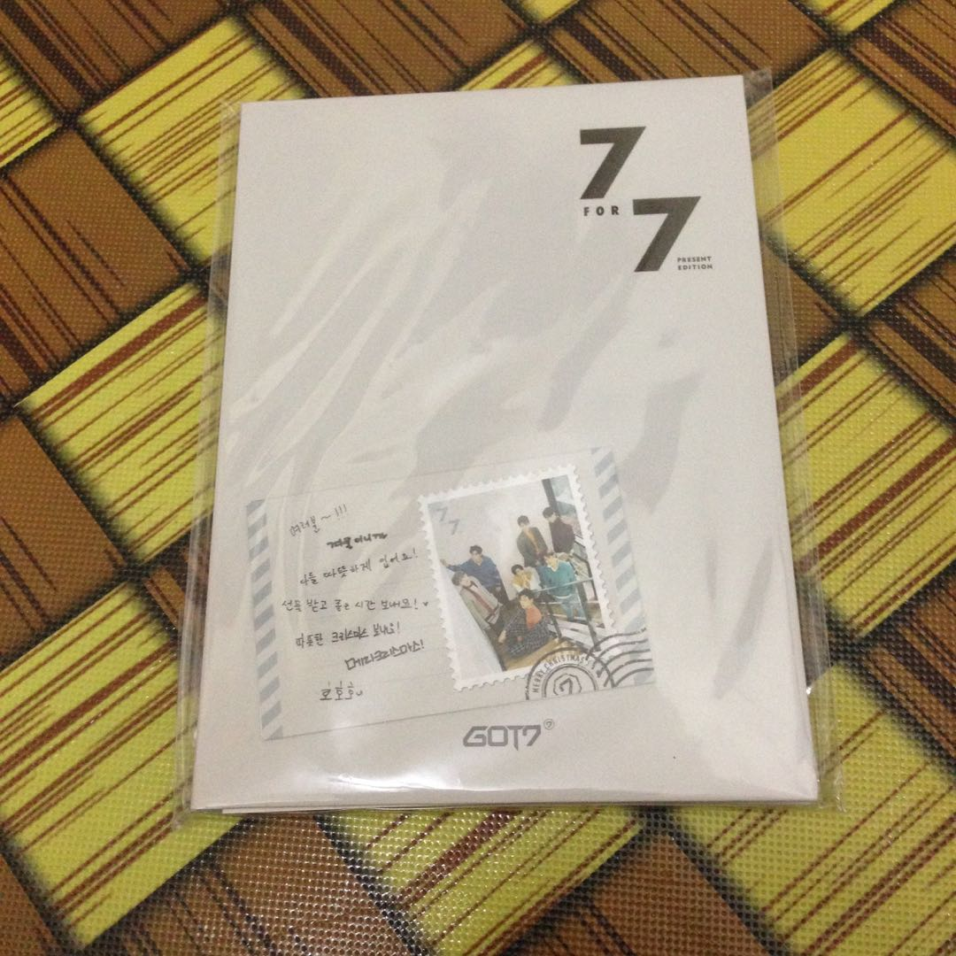 GOT7 7 FOR 7 PRESENT EDITION PREORDER BENEFIT (STARRY HOUR VER)