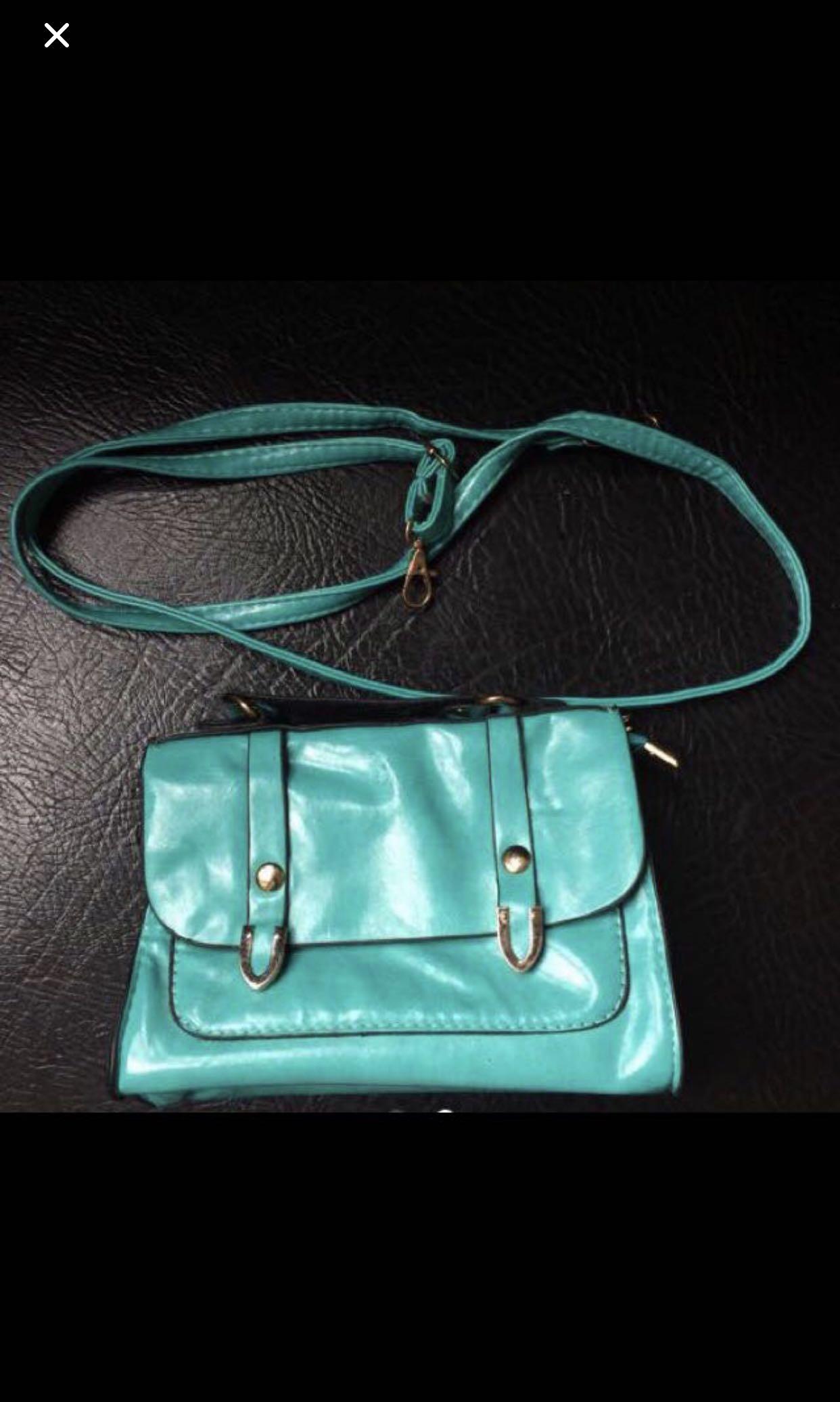 Green post bag