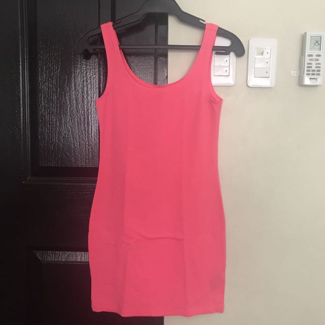 H&M Bodycon Cotton Dress