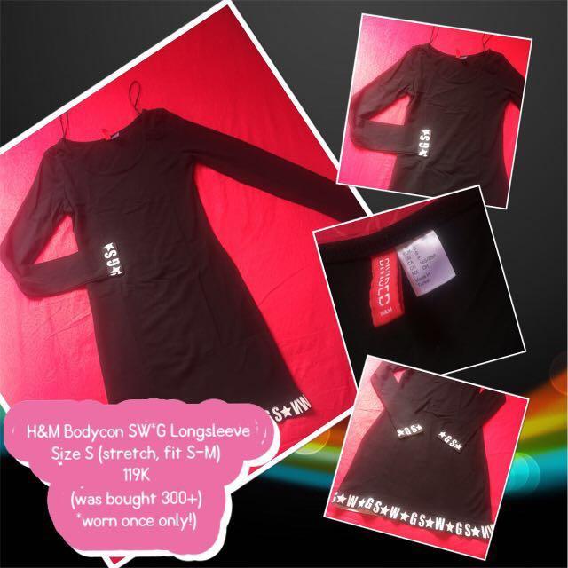 H&M Bodycon SWAG Dress