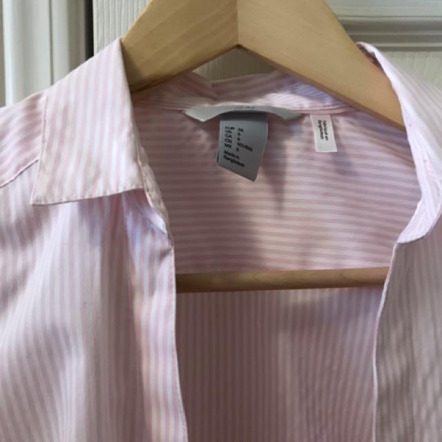 H&M dress shirt size 6