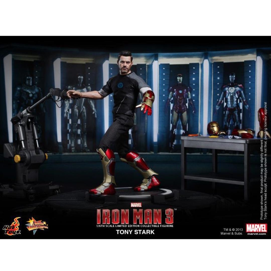 Hot Toys Iron Man 3: Tony Stark