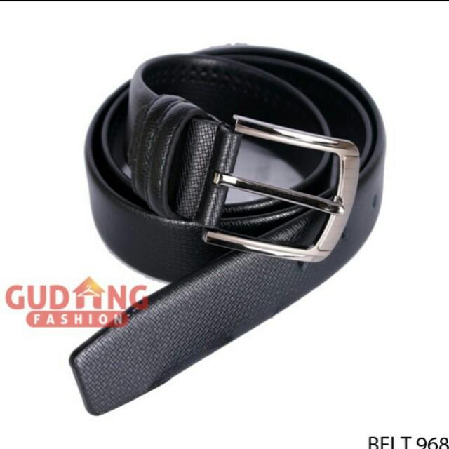 Ikat Pinggang/Belt/Gesper Hitam
