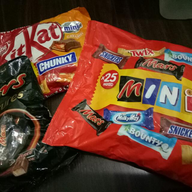 Imported Chocolates - 3 for 500