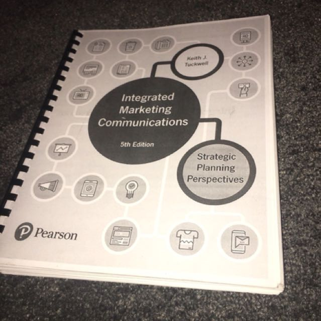 Integrated marketing communications textbook